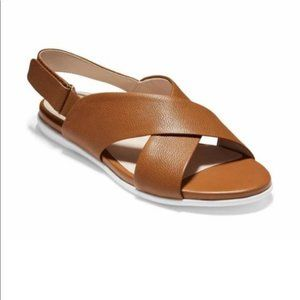 Cole Haan Grand Ambition Leather Sandal, Sz 11 NWT